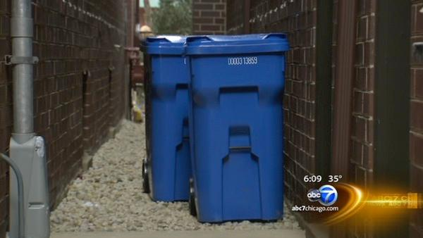 Recycling bins unwanted gifts from city