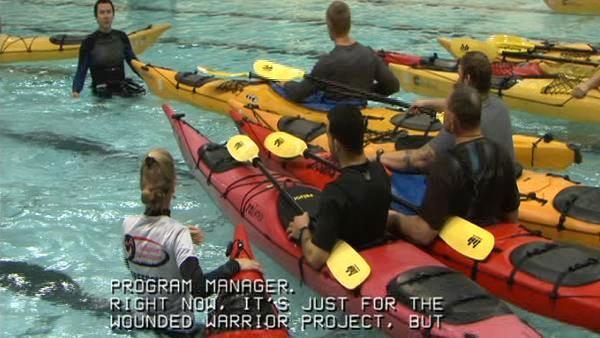 Fun for wounded vets, disabled at Adaptive Adventures