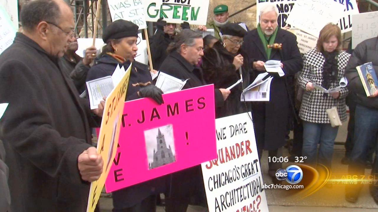 Activists try to save St. James Church building