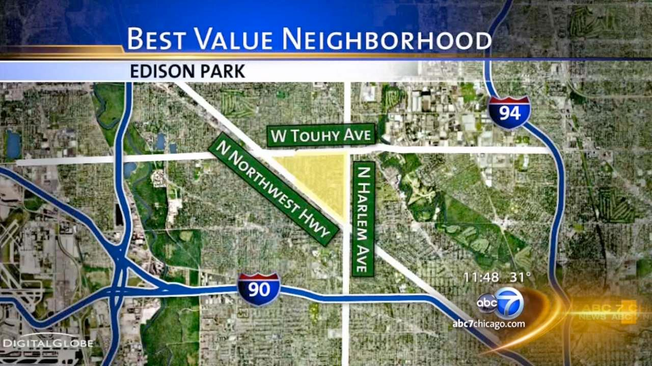 Edison Park: good for first-time buyers