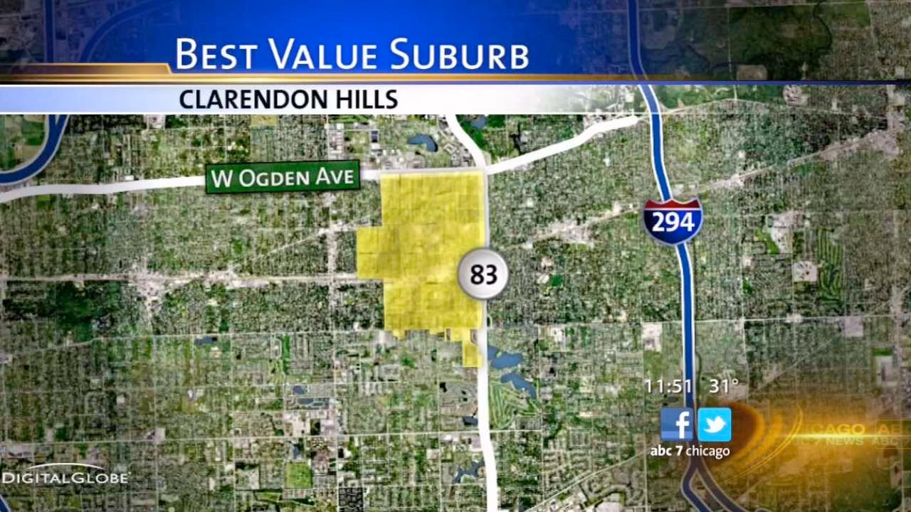 Clarendon Hills: good for move-up buyers