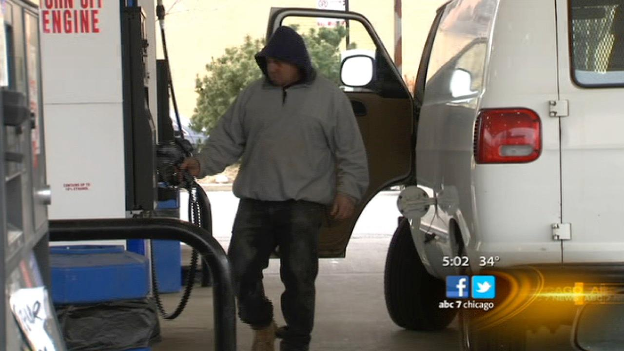 Chicago most expensive city to fill up gas tank