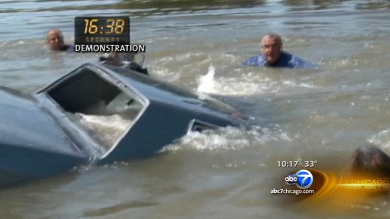 What do you do if your car is submerged in water?