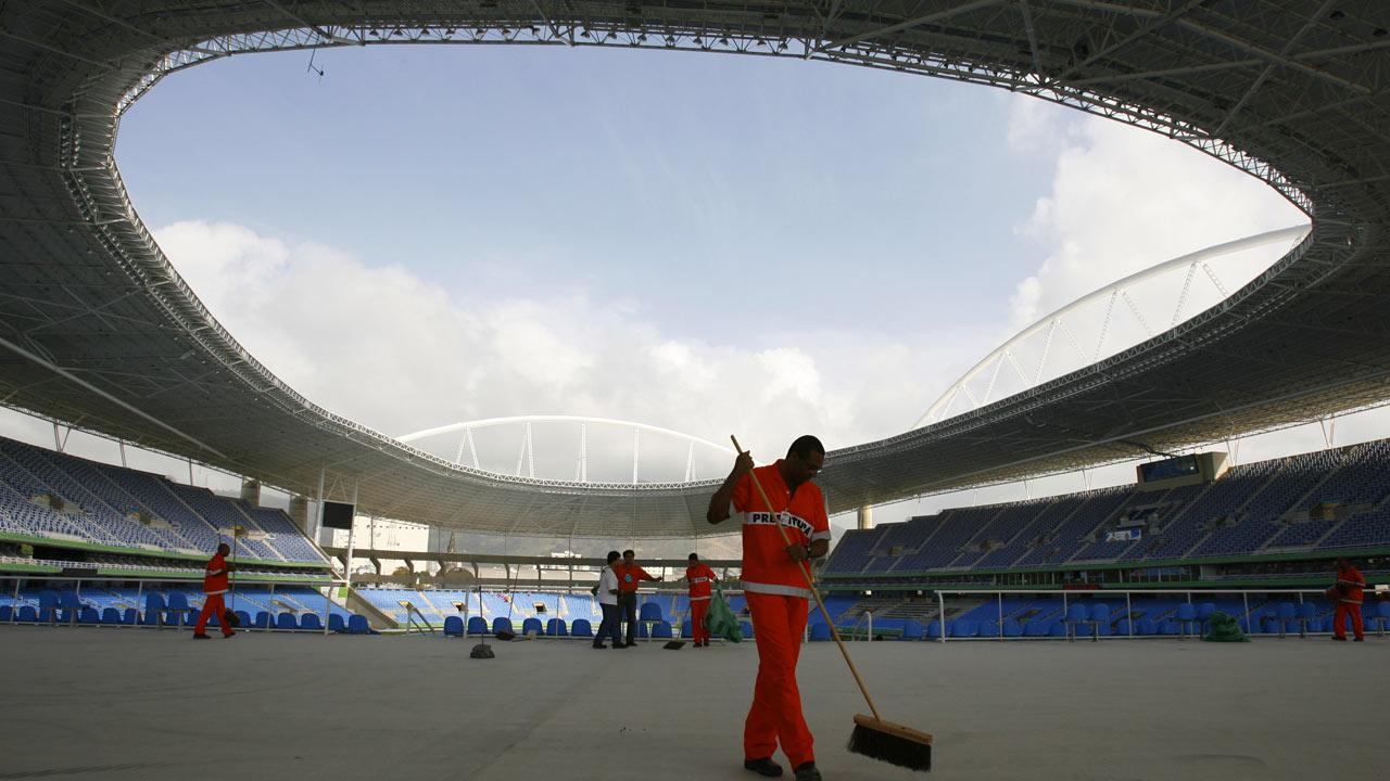 Joao Havelange stadium in Rio de Janeiro is seen in this file photo. (AP Photo/Dario Lopez-Mills, File)