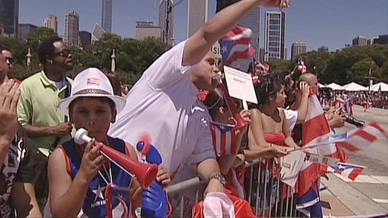 File image: Puerto Rican Day Parade spectators