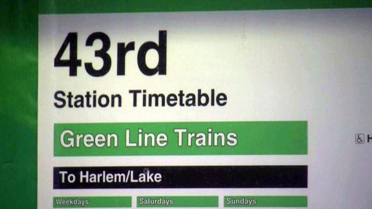 The Halsted and Ashland-63rd Street Green Line stations will close Friday night at 10 p.m. and reopen Monday at 4 a.m.