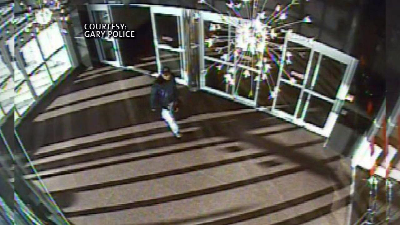This image is from the Majestic Star Casino in Gary.   Police are trying to locate the man seen above. Police think he is the same man seen entering a business owned by 76-year-old Mary Austgen.   Her body was found last Friday in a parking garage at the Majestic Star Casino.