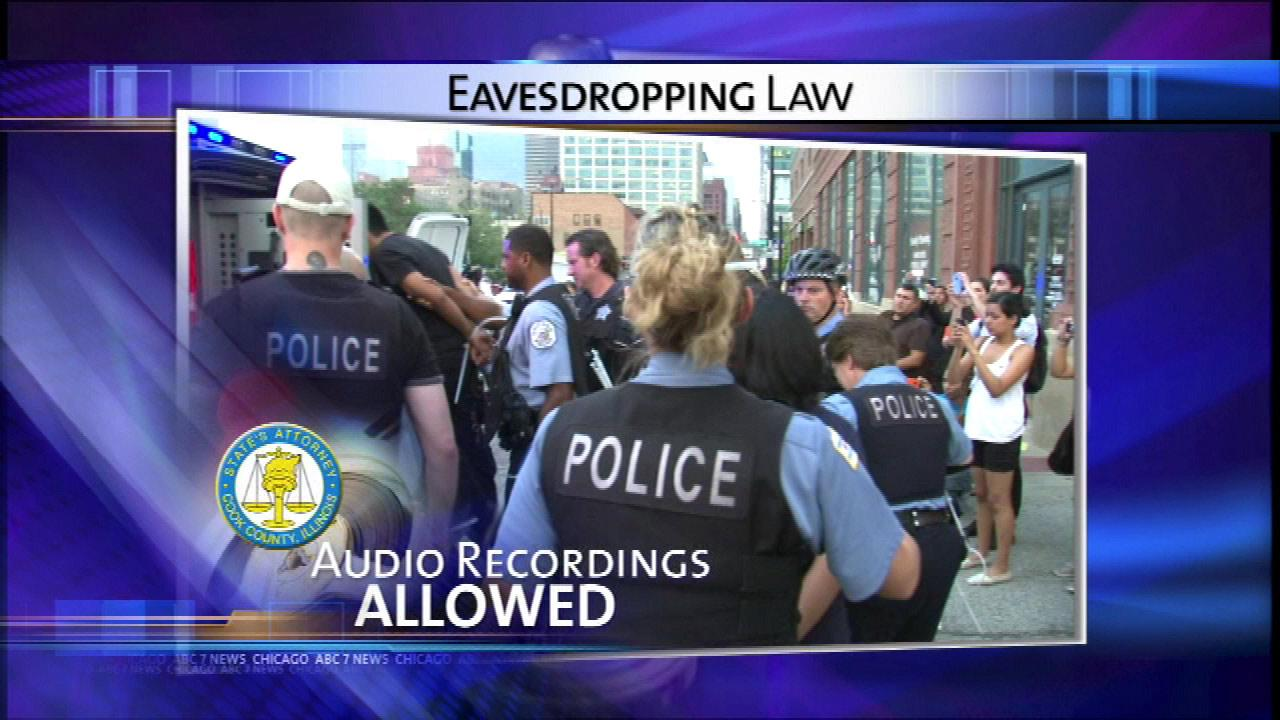 New developments in state's controversial eavesdropping law