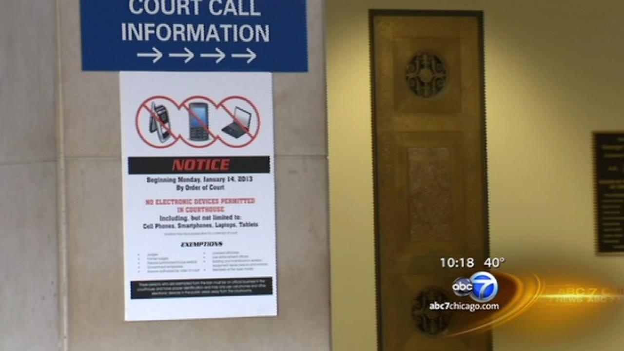 Exclusive: Judges say court cell phone ban aims to protect jurors and witness