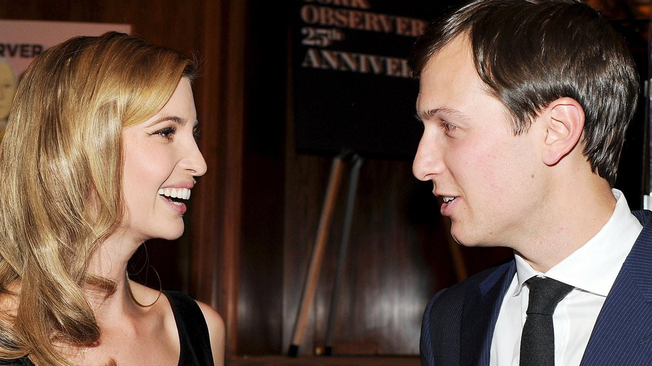 New York Observer publisher Jared Kushner and wife Ivanka Trump attend The New York Observers 25th anniversary party at The Four Seasons Restaurant on   in New York. (Photo by Evan Agostini/Invision/AP)