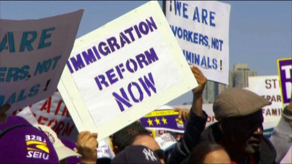 Bipartisan support for immigration reform