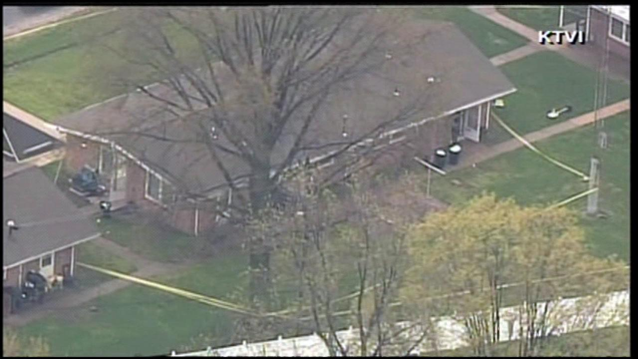 Five people were shot to death inside a home in downstate Manchester, Illinois, Wednesday, April 24, 2013.KTVI