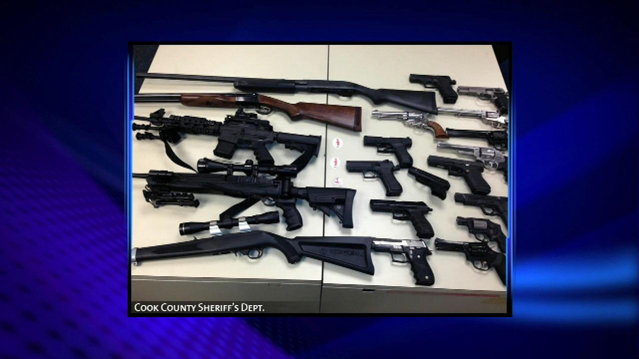 Since initiating the effort seven weeks ago, 83 guns, including four assault weapons, have been recovered.Cook County Sheriff