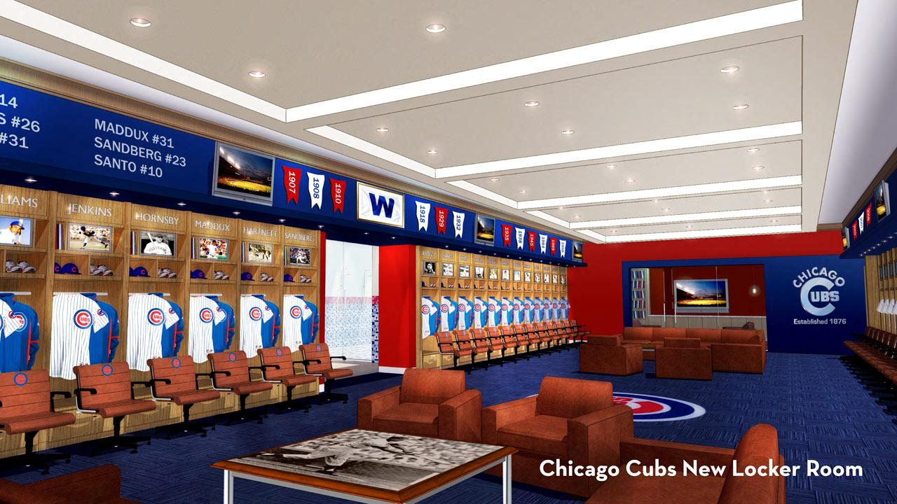 Proposed Cubs locker room
