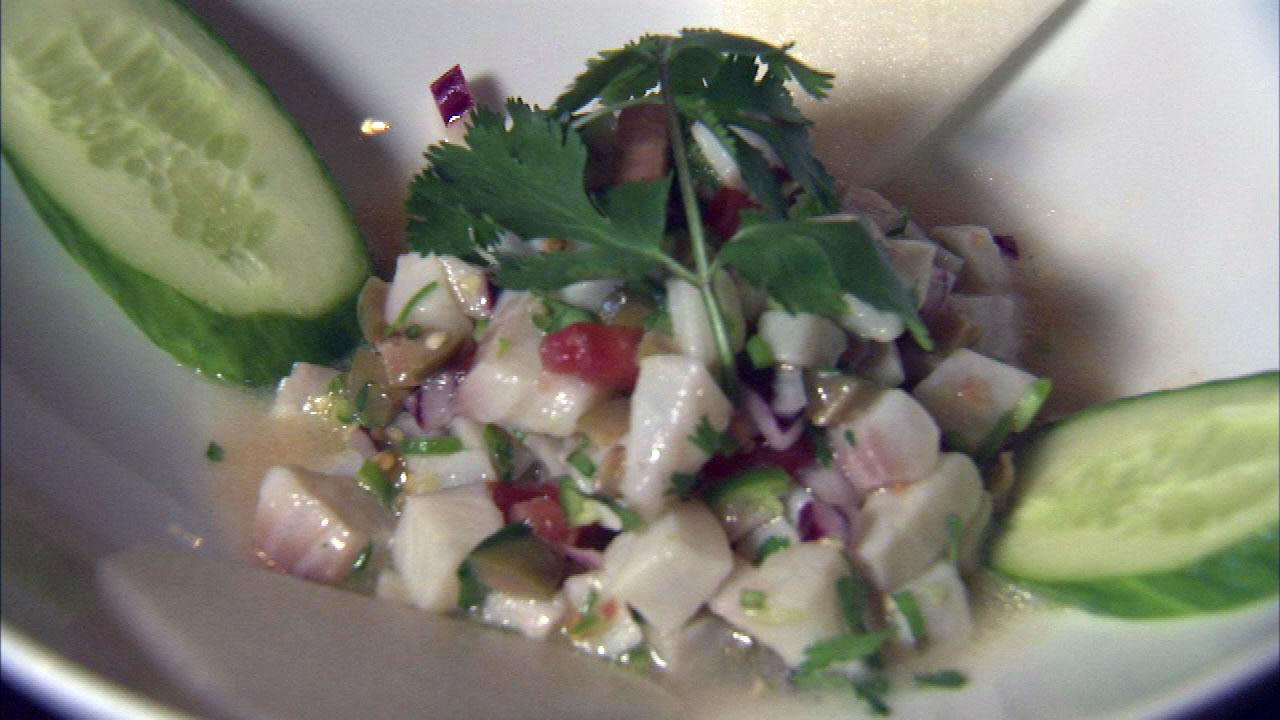 Ceviche a good food choice on Cinco de Mayo