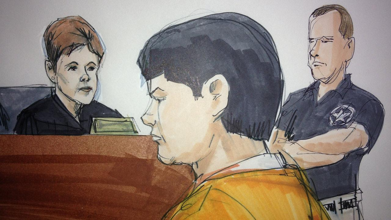 Yueh-Hsun Gary Tsai appeared in federal court in Chicago on Monday, May 6, 2013.