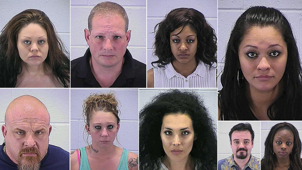 A two-day prostitution sting conducted last week by Aurora police led to charges against four men and six women.