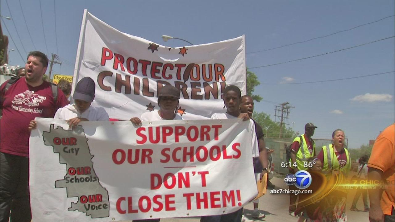 CPS protests, marches continue