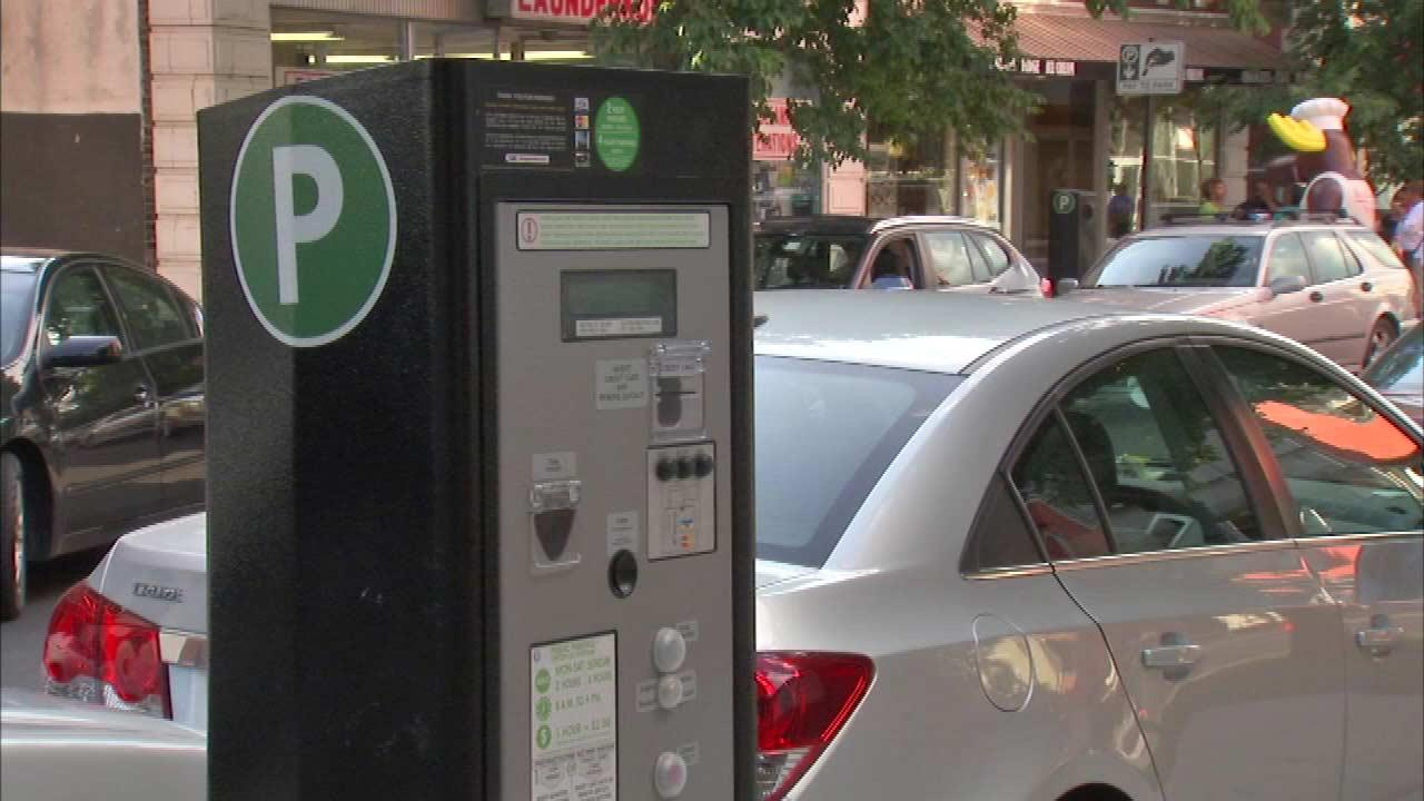Free Sunday parking meters causing confusion