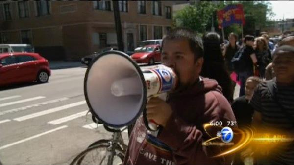 Occupy Chicago leads CPS closures protest