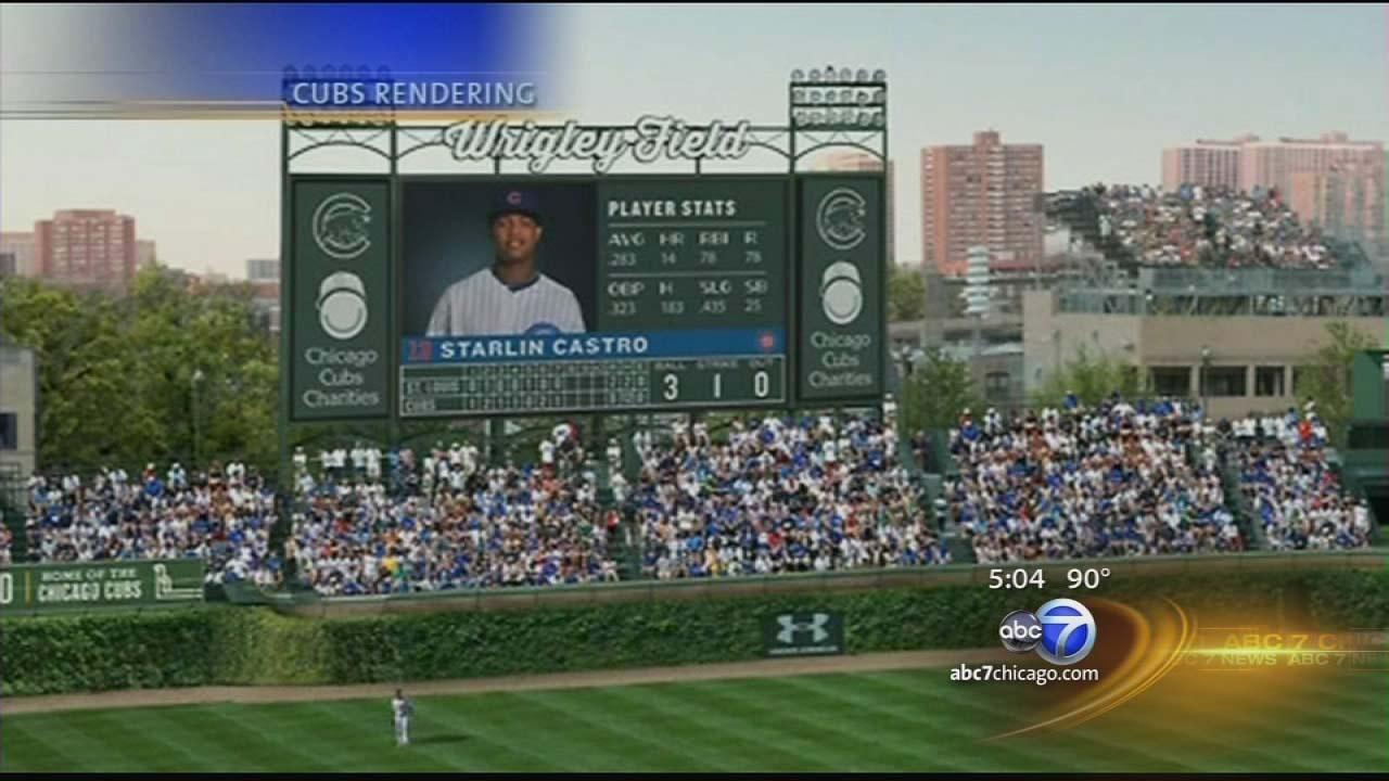 Commission approves Wrigley Field scoreboard signs