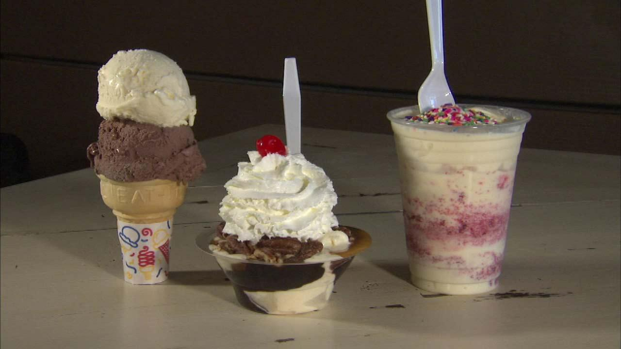 Frozen custard a Midwestern summer treat