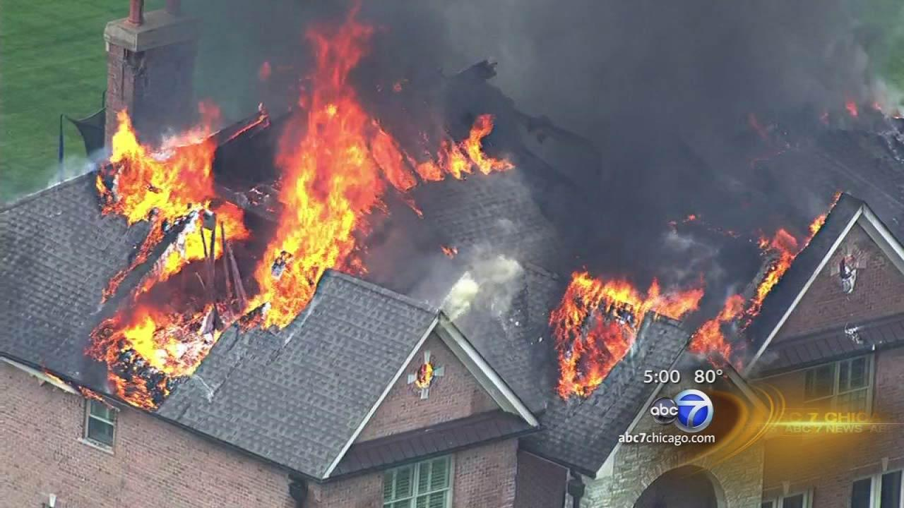South Barrington fire causes major damage to home