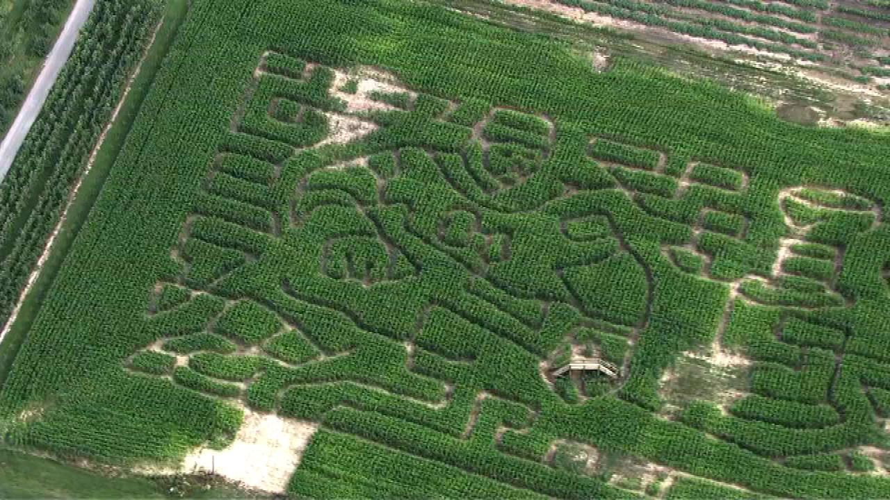 An Indiana orchard is honoring the Chicago Blackhawks and their Stanley Cup win this year.