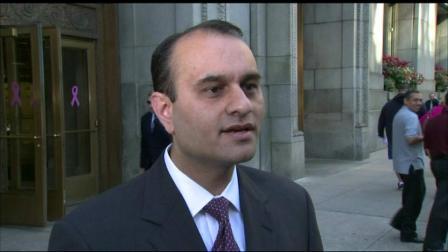 Chicagos former comptroller, Amer Ahmad