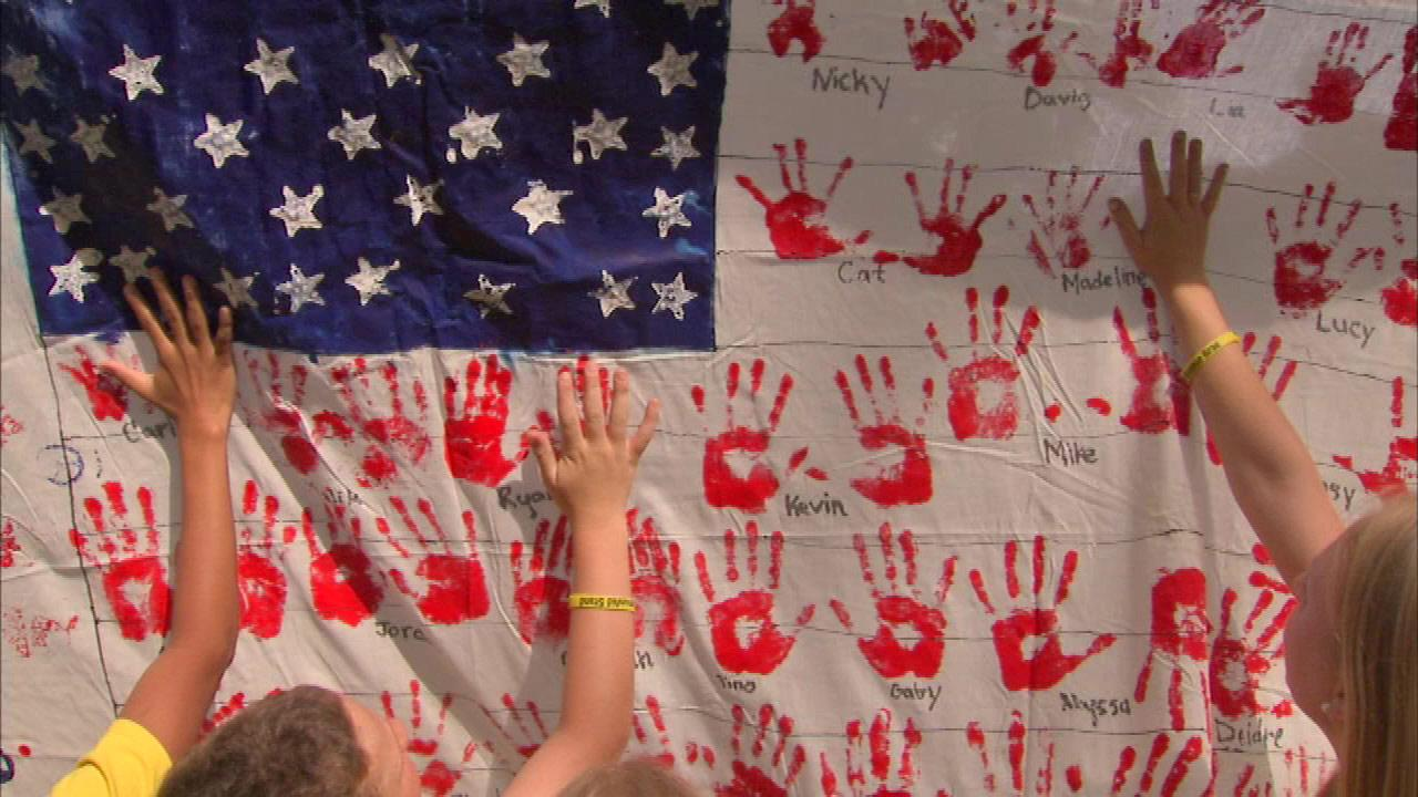 The anniversary of the September 11 attacks will always mark a somber time in this country, but one local community is finding a way to help others as they remember the tragedy.