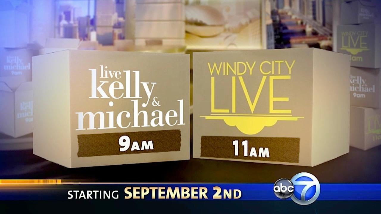 Live with Kelly & Michael comes home to ABC7