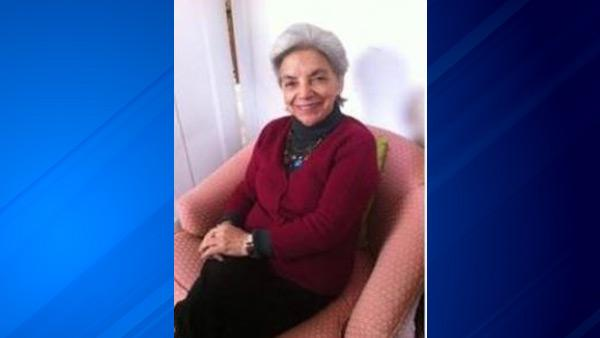 Alda Velasquez, 68, was last seen in the area of 3800 N. Janssen.
