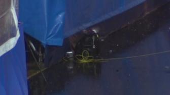 Police blew up two unattended backpacks found near the Boston Marathons finish line.