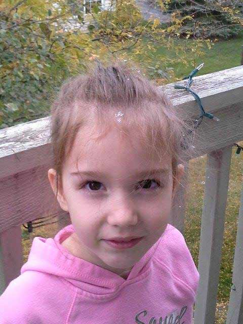 Bella caught the first snowflake in Geneva, shared with ABC7 by Camille Spillone