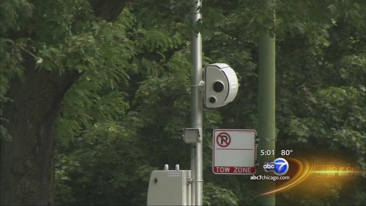 Speed camera locations announced as installation gets under way in Chicago