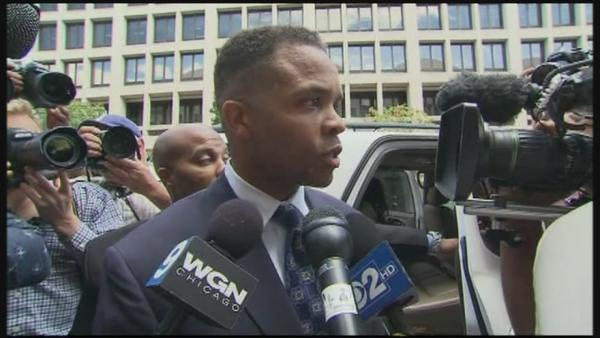 Jesse Jackson Jr. speaks publicly after sentenced to pr