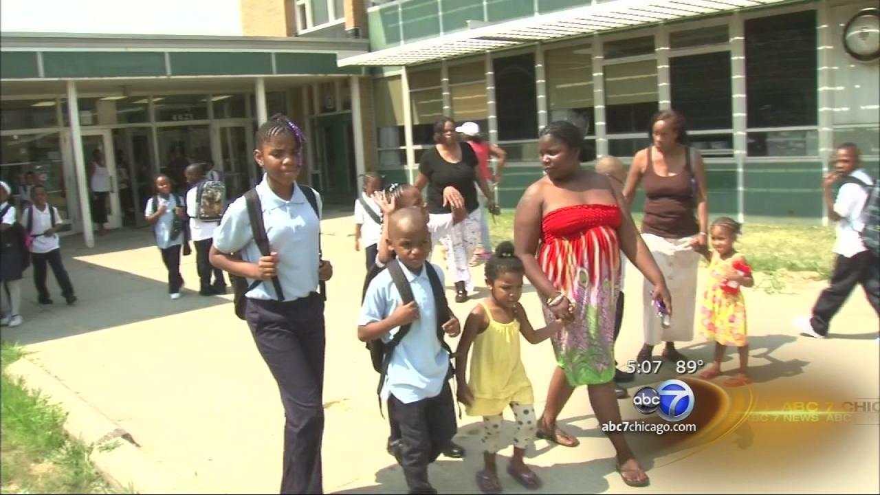 Mom moves family to Gary after Chicago school closes
