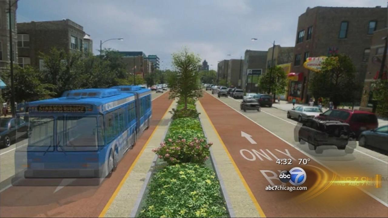 Ashland bus-only lane planned from Irving Park to 95th
