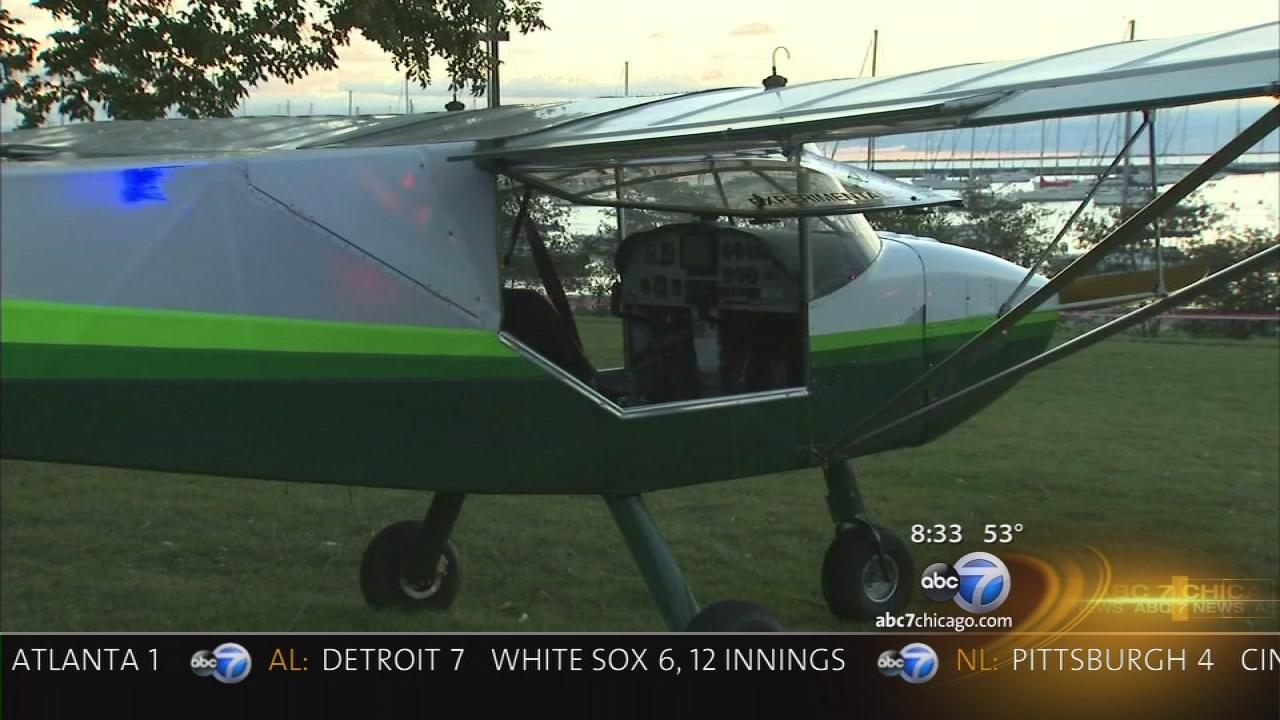 Small plane lands on LSD; minor injuries for pilot