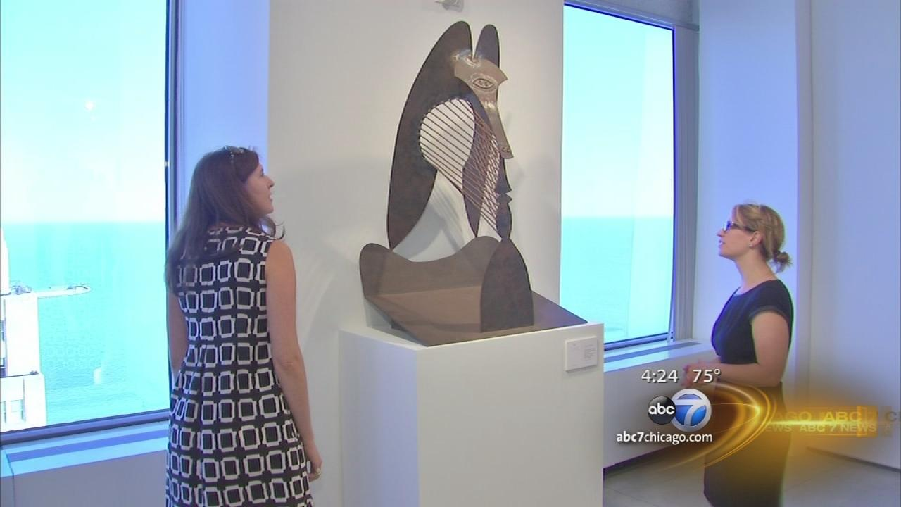 Daley Plaza Picasso statue model going on auction