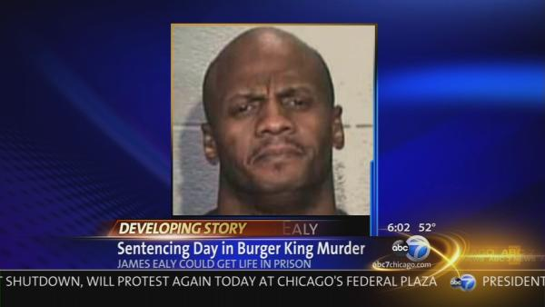 James Ealy faces sentencing in Burger King murder