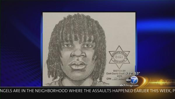 Sketch released of sexual assault suspect in South Side attacks