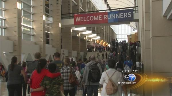 Marathon runners ready for tightened security