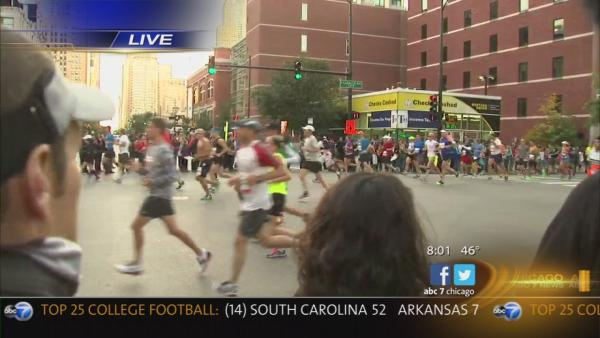 Runners take security in stride