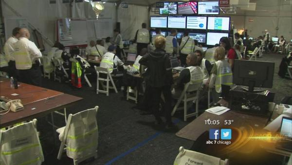 CPD command post anchored marathon security