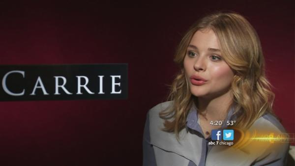Actress Chloe Moretz talks about 'Carrie' remake