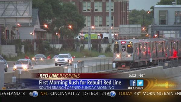 Red Line south end open for morning rush