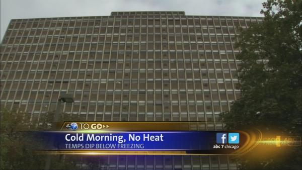 No heat at West Side building