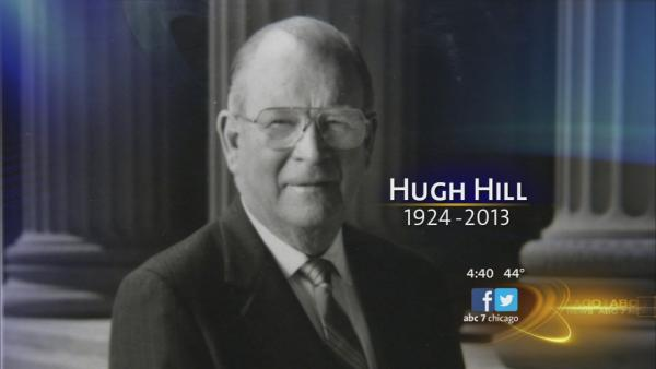 Hugh Hill remembered for booming voice
