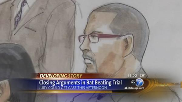 Closing arguments in Bucktown bat attack trial